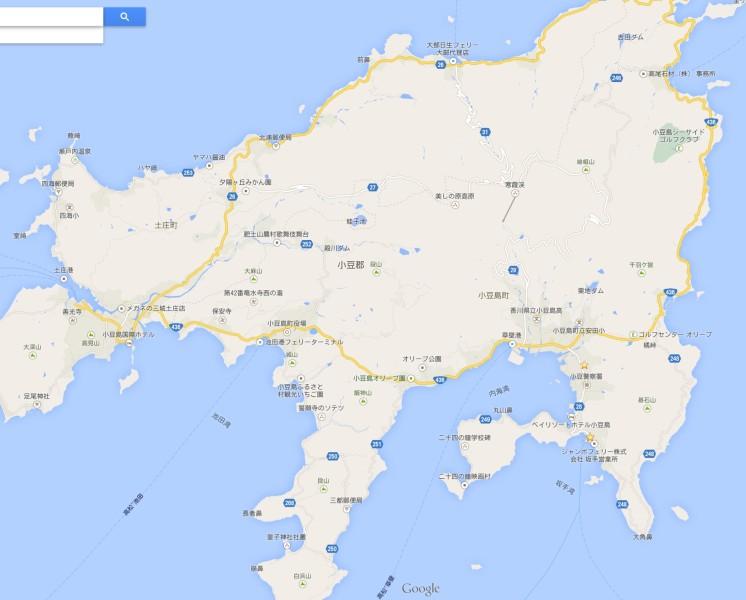 小豆島地図